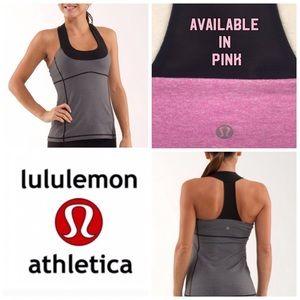 Lululemon Scoop Neck Racerback Pink Tank